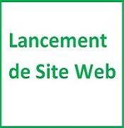 Lancement Site Web